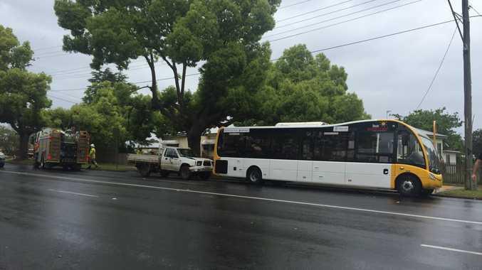 Bus and car crash on Ruthven St, September 29.