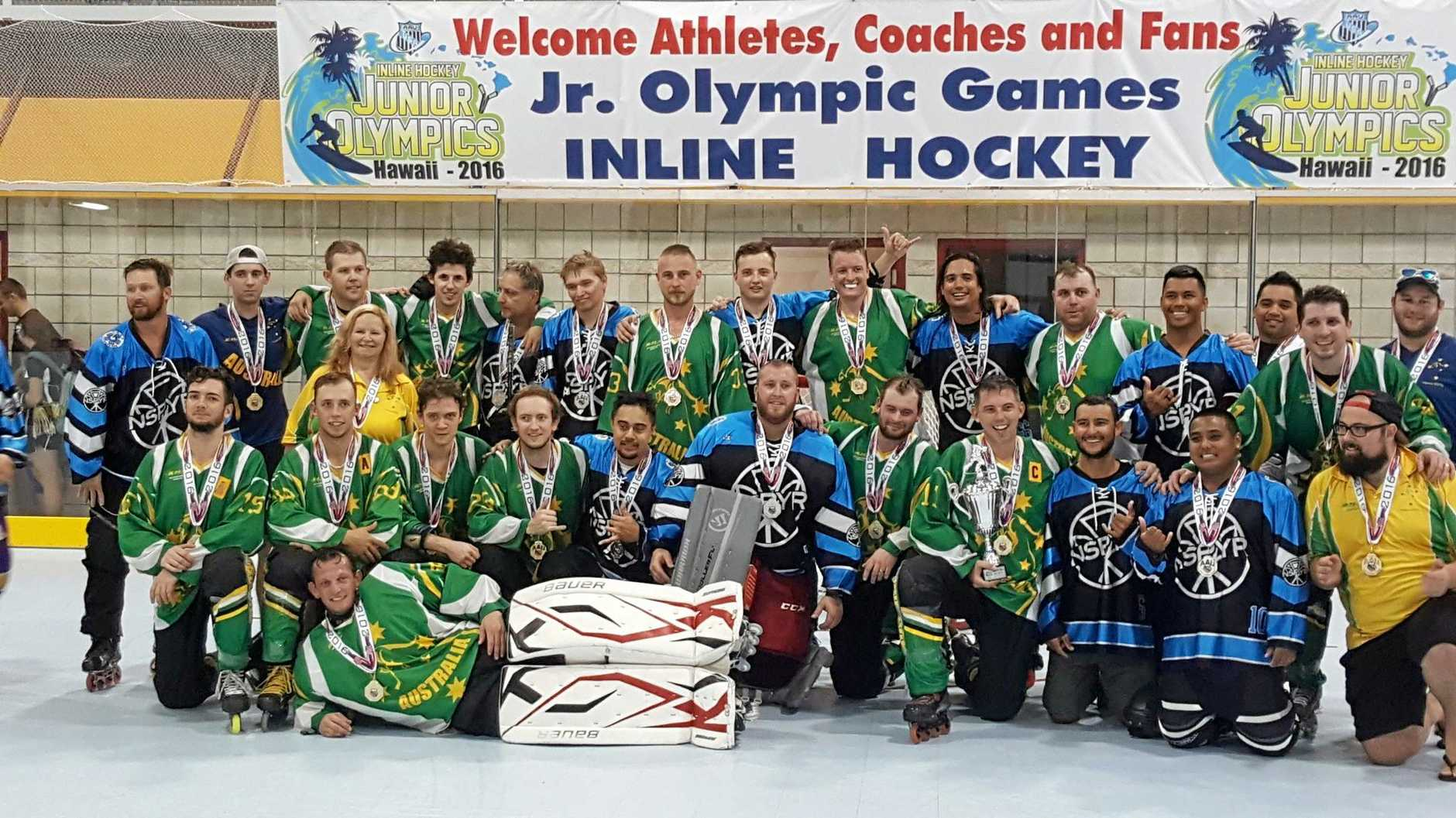 Mackay players in line for gold after winning in Hawaii
