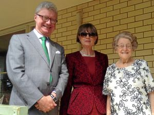 Honoured guests pay birthday visit