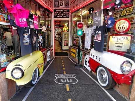 This souvenir shop in Williams, Arizona blew Trevor Jones away.
