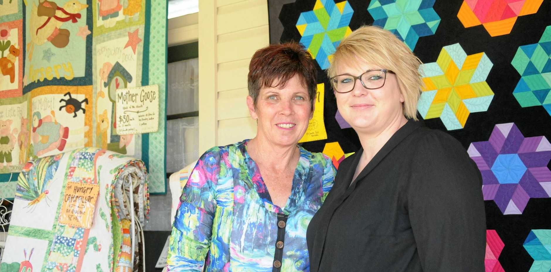 Marion and Steph Marshall will be heading to Brisbane for the Craft and Quilt Fair Brisbane from October 5 to 9.