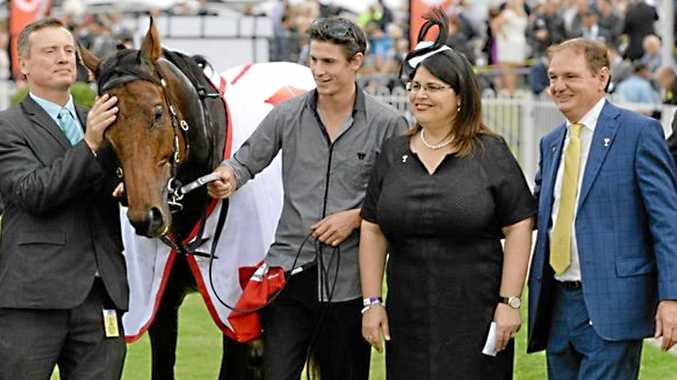 GOOD OIL: Racing Minister Grace Grace (left) has unveiled the financials of the racing industry.
