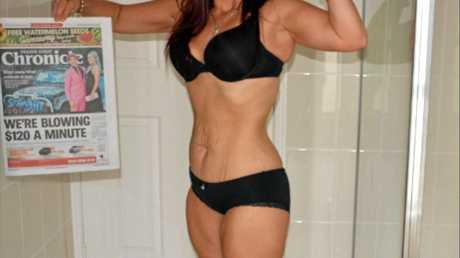 In 32 weeks Lauren Kertland lost a total of 33kgs dropping from 94kgs to 61kgs
