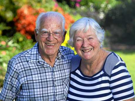 Dick and Katie Tazelaar are celebrating their 60th wedding anniversary.