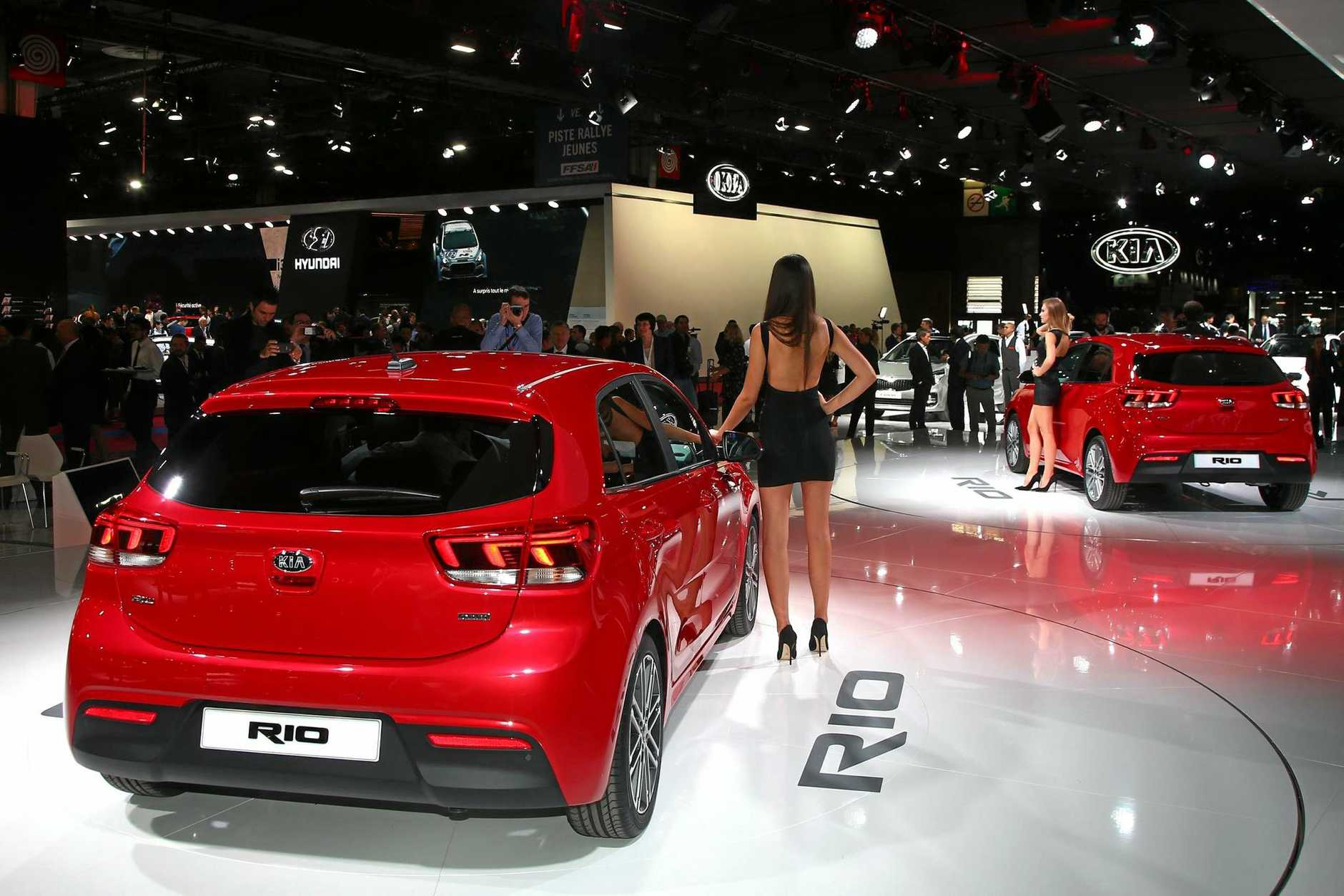 The 2017 Kia Rio will go on sale in Australia during January.