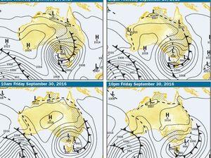 Will we dodge worst of wild weather on the Fraser Coast?