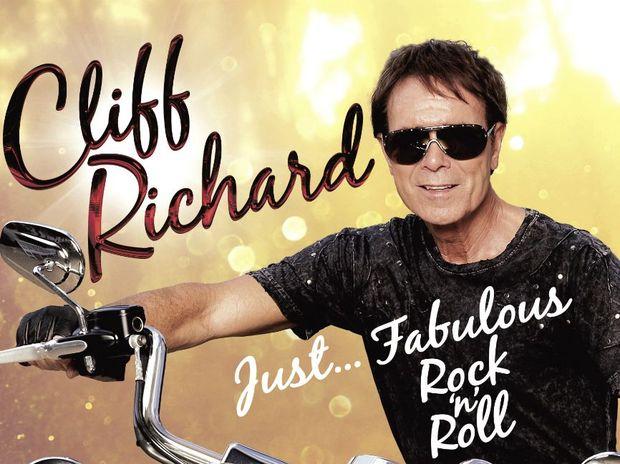 Sir Cliff Richard's album cover