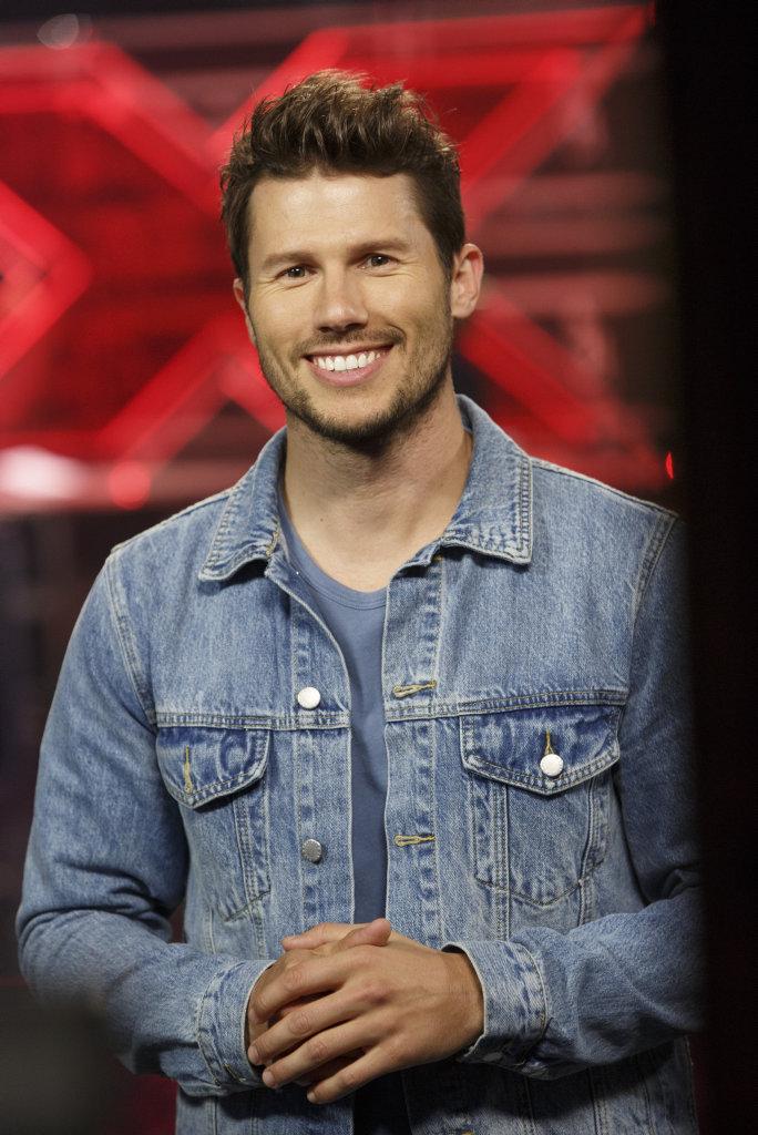 The X Factor host Jason Dundas.