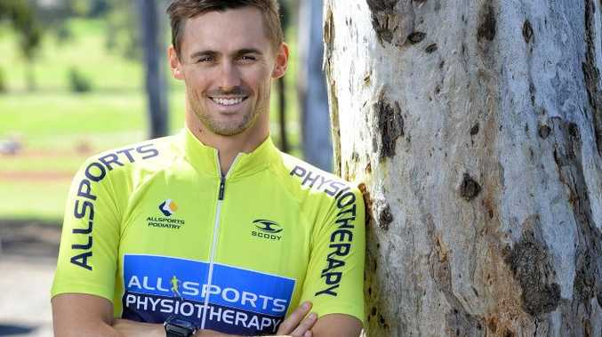 Ipswich triathlete Jarrod Harvey appreciates the help he has received to qualify for the world ironman championships.