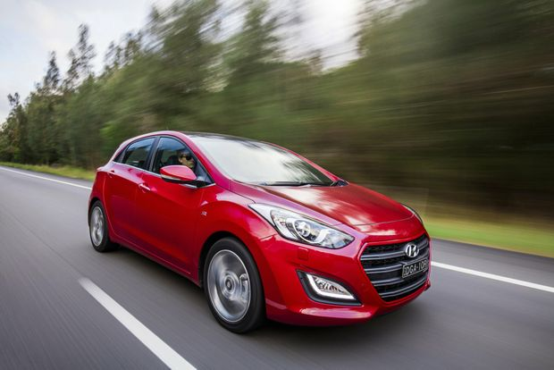 THE WARM ONE: Hyundai's perennial favourite i30 hatch gets loaded with goodies and sporty style in SR guise.