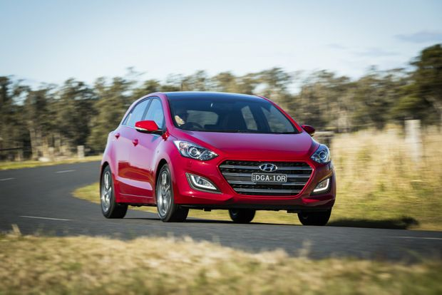 HYUNDAI SURGE: The Korean brand tied for second on the satisfaction survey.