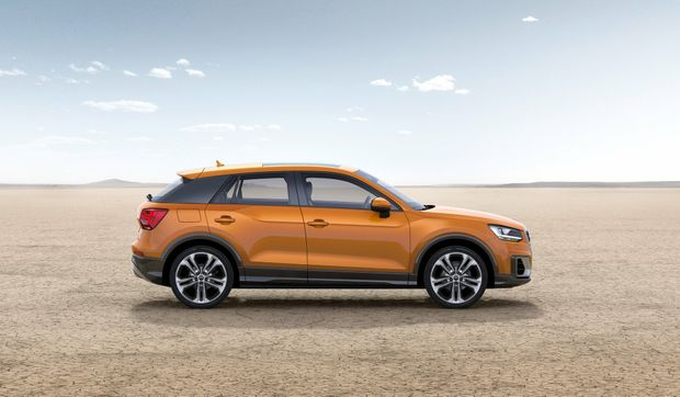 2017 Audi Q2 compact SUV.Photo: Contributed