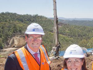 Viaduct construction begins