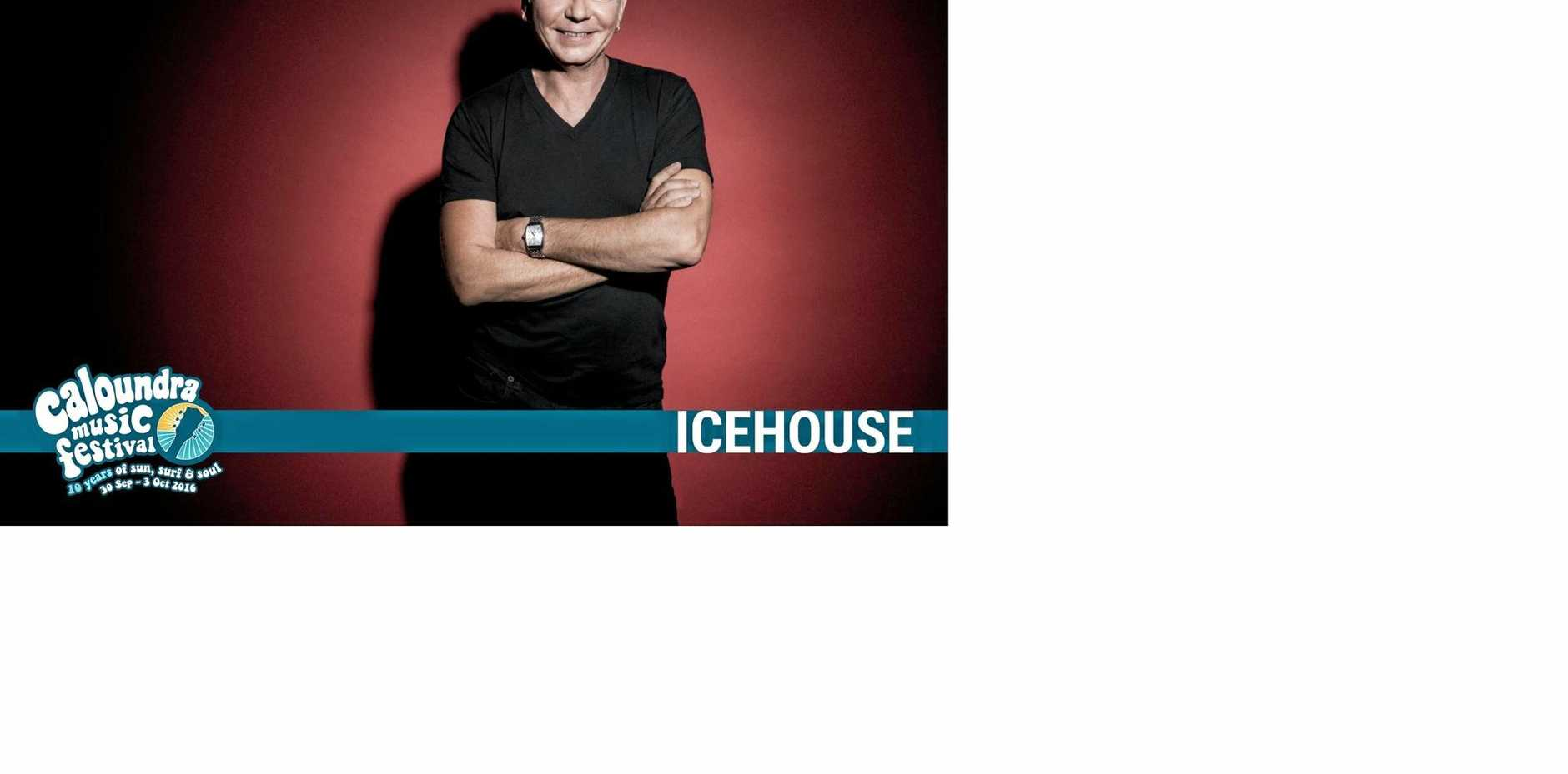 LEGEND: Iva Davies from Icehouse is at the Caloundra Music Festival.