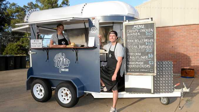 POPULAR: The Popular Food Cart will be there.