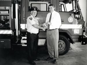 Devoted father and fireman will be missed
