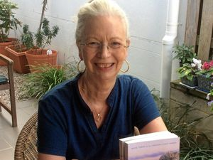 Writer fulfils dreams and fills pages in her 50s
