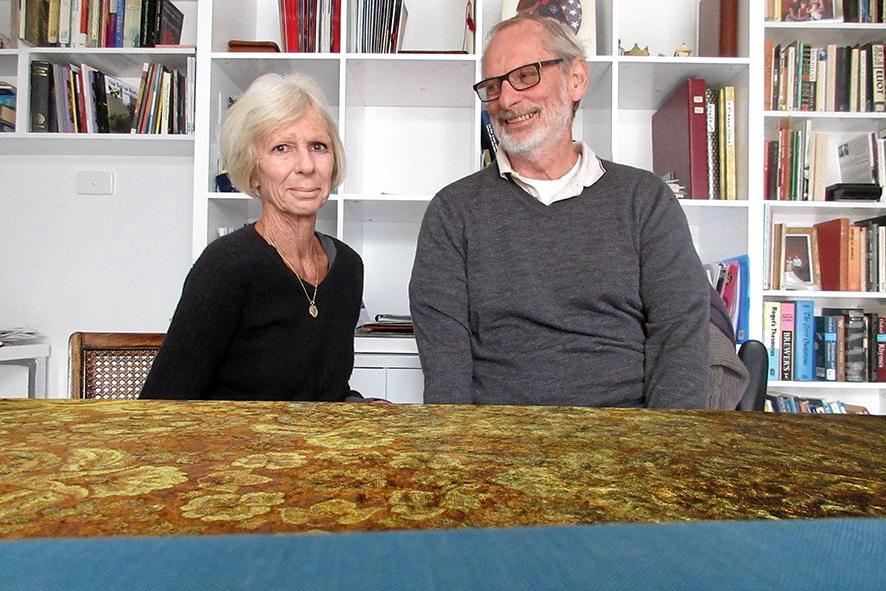 Susie and David Utting.