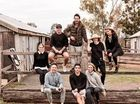 FASHION DESTINATION: The cult fashion title GRAZIA team was on location at Jondaryan Woolshed and Toowoomba.