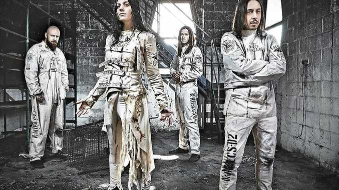 Lacuna Coil return to Australia in their first ever headline tour.  Photo Contributed