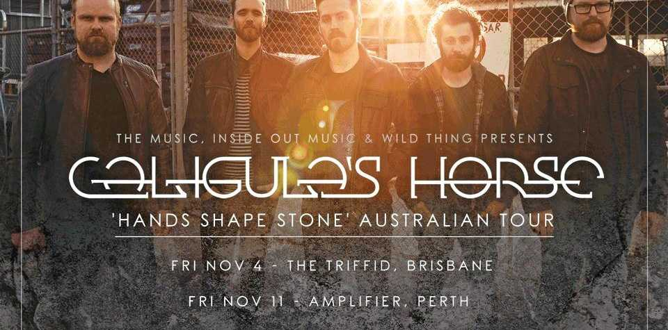 Caligula's Horse, one of the country's most exciting and innovative progressive bands, will hit the road for a national tour in November.
