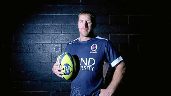 NRC Queensland Country representative Brad Thorn will be part of today's run-on side at Clive Berghofer Stadium.