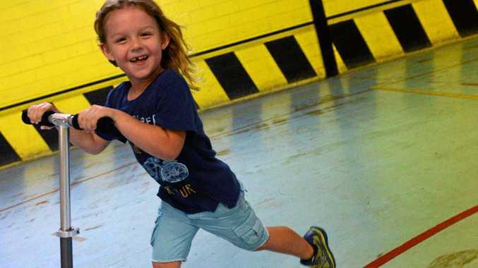 MEMORIES: Koby Irvine at Extreme Skate Zone.
