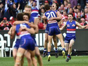 Historic scene at MCG as Bulldogs win AFL premiership