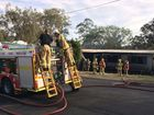 Neighbours report loud explosion before home engulfed