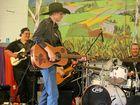 Pioneer Valley singer Heath Milner takes the stage.
