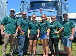 Truckies placed in the spotlight at Lights on the Hill