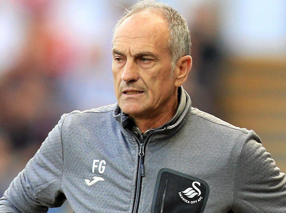 Swansea City manager Francesco Guidolin.