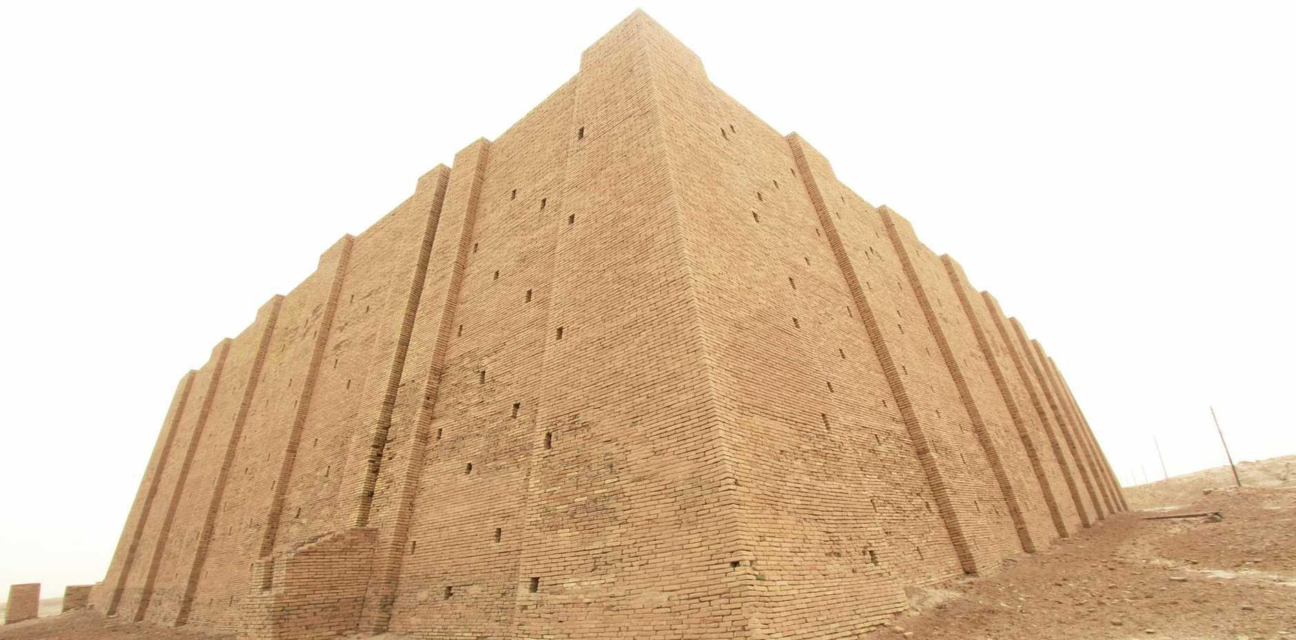 NEXT STOP PLUTO: The great Ziggurat of Ur