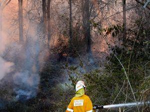 Crews still fighting two major bush fires in the region