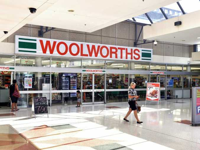 Woolworths in the Ipswich Mall. Photo: Rob Williams / The Queensland Times