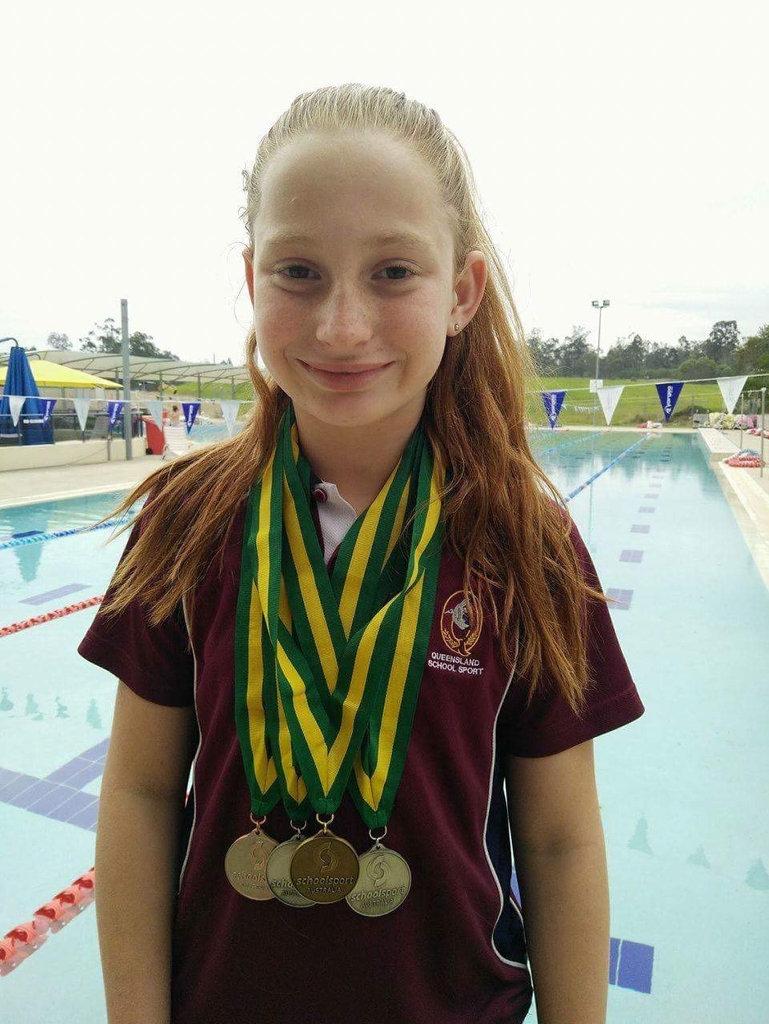 Ipswich swimmer Mollie O'Callaghan