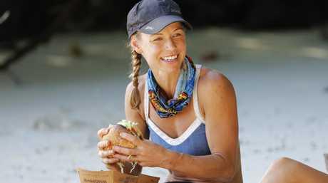 Australian Survivor contestant Kylie Evans.