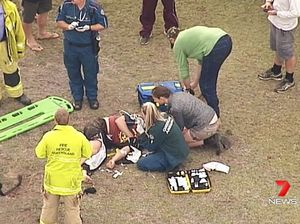 AUDIO: Man injured in paramotor crash