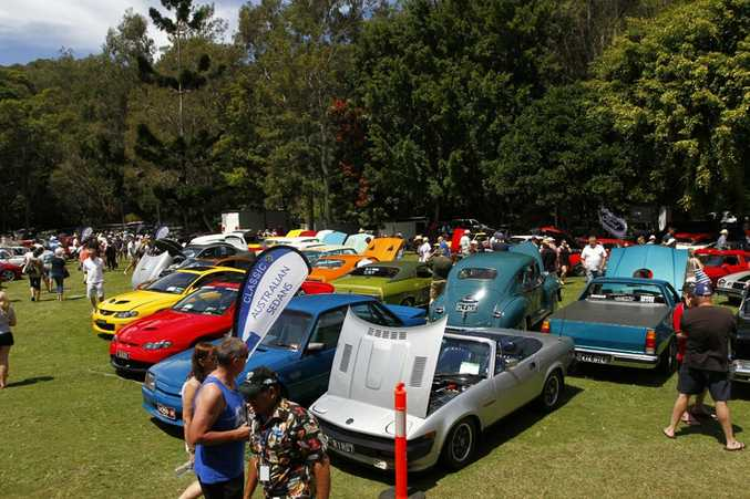 2016 Noosa Beach Classic Car Show.Photo: Iain Curry