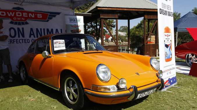 Ex-Jackie Oliver 1971 Porsche 911S at the 2016 Noosa Beach Classic Car Show.Photo: Iain Curry