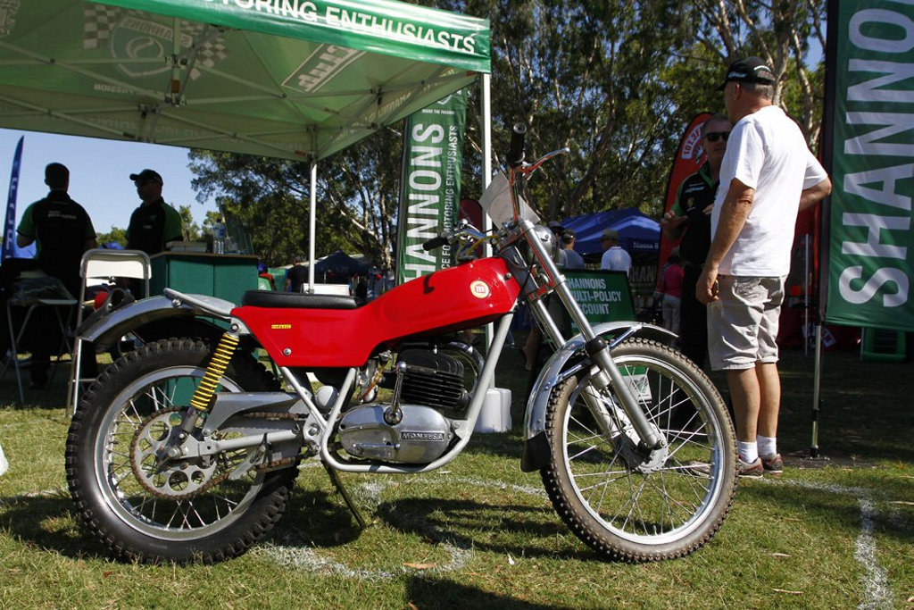 1973 Montesa Cota at the 2016 Noosa Beach Classic Car Show.Photo: Iain Curry