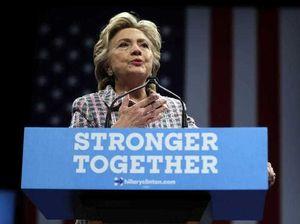 Hillary Clinton responds to Donald Trump tax 'bombshell'