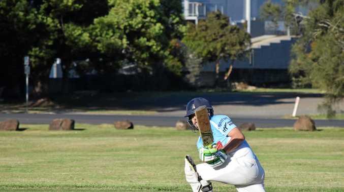 Ballina Bears batsmen Justin Moore.