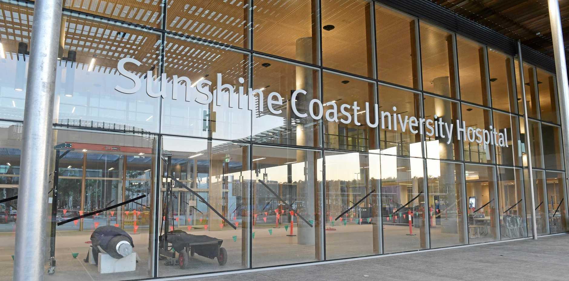 Construction of the Sunshine Coast Public University Hospital