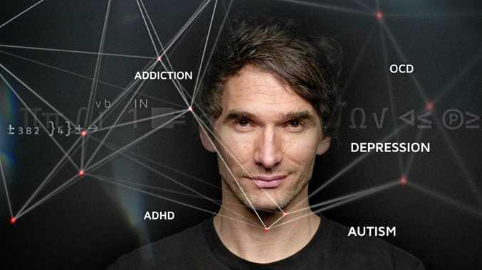 Todd Sampson, host of Redesign My Brain. Photo ABC TV
