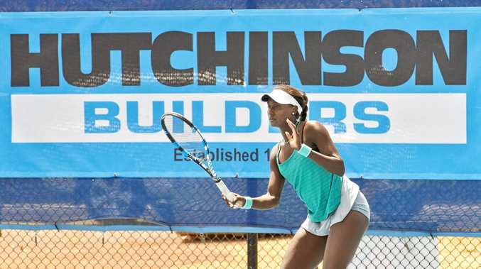 LATE CALL: Would-be second seed Asia Muhammad was a last minute entry into the Toowoomba international this year and as a result will now attempt to qualify.