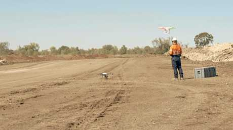 The drones have improved aerial surveying capacity.