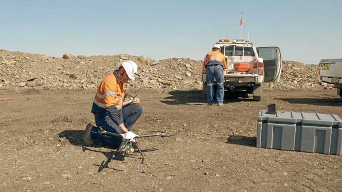 NEW KIDS ON BLOCK: Aerial Survey Drones are changing the face of mining operations.
