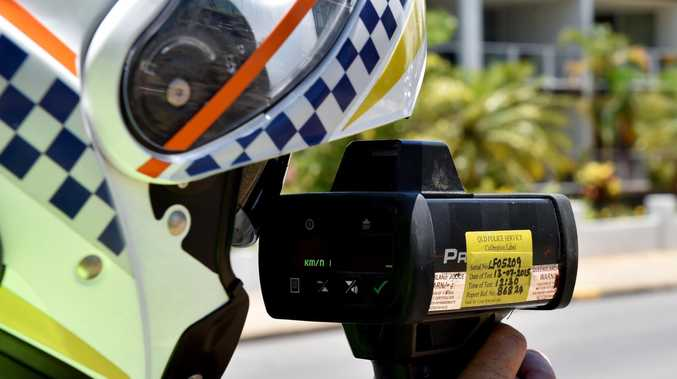 CAUGHT: Police recorded the man driving 21km/h over the speed limit.