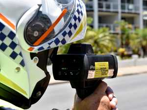 Motorcyclist busted at more than 100kmh in 60kmh zone